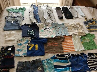 Baby boys clothes size 0 bulk lot over 30 items