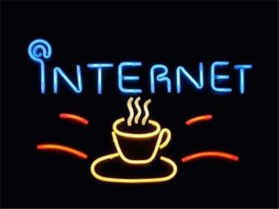 INTERNET CYBER CAFE WiFi Coffee Shop BUSINESS & MARKETING