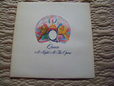 QUEEN A NIGHT AT THE OPERA 1st PRESS VINYL emi 4/4 blairs embossed exc/exc/exc+