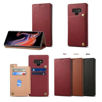 For Samsung Galaxy Note 9 Luxury Leather Case with Wallet Card Holder Flip Cover