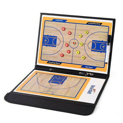 b01a0eda856 Basketball Coaching Board Clipboard Dry Erase Magnetic Coach Board with  Marker