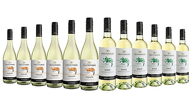Mixed Zonin Branded Wine Pack 5-Star Winery 12x750mL - FAST & FREE SHIPPING