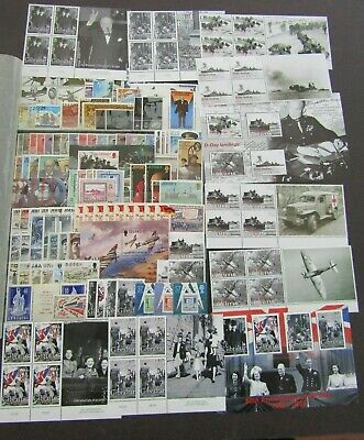 Fine Mnh Thematics Collection For Wartime Leaders & Dday - Pristine