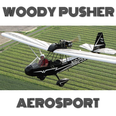 Aerosport Woody Pusher - Paper Plans And Information Set For Homebuild Aircraft