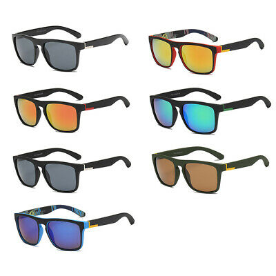 NEW 2019 Square Outdoor Goggles Mirrored UV400 Sunglasses for Driving Fishing US
