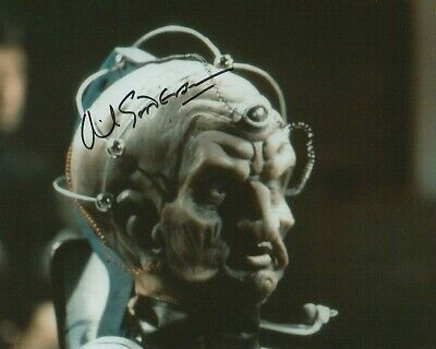 David Gooderson In Person Signed Photograph - Davros in Doctor Who - A594