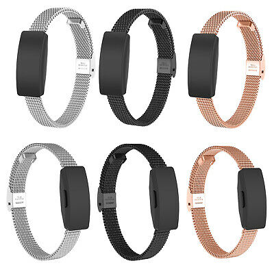 Stainless Steel Wrist Watch Band Strap Bracelet For Fitbit Inspire / Inspire HR