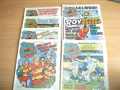 Vintage Comics Roy of the Rovers 1986 job lot Roy of the Rovers comics