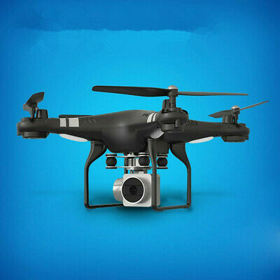 Wide Angle Len HD Camera Quadcopter RC Drone WiFi FPV Live Helicopter Hover UK