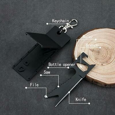 EDC Credit Card Knif For Wallet Stealth Tactical Camping Outdoor Mini Tools