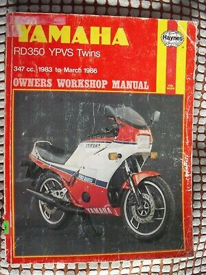 Haynes Workshop Manual Yamaha Rd350 Ypvs 83-86 Rd350Lcii Rd350F Rd350N 1158 Book