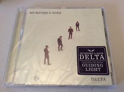 """Mumford and Sons CD new album """"Delta"""" brand new still in cellophane"""