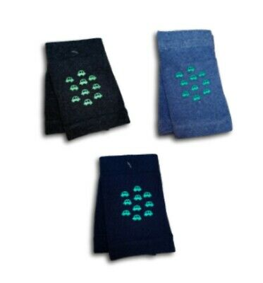 Baby Boys Infant Toddler Crawling Safety Cotton Anti Slip Knee Pads Warmers