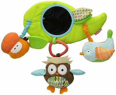 CLEARANCE Skip Hop Treetop Friends Stroller Pushchair Bar Toy Safety Mirror