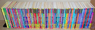 68 Goosebumps Give Yourself Goosebumps & Ghosts Of Fear Street books R.L. Stine