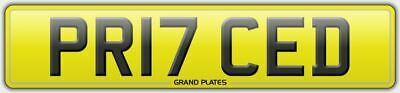 Pr17 Ced Priced Registration Price Number Plate Pricing New Car Release March 17