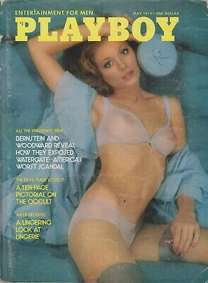 Playboy May 1974-A - Marilyn Lange - Hank Aaron Interview !!!