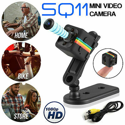 Telecamera Mini Action Cam Camera Videosorveglianza Micro Sd Full Hd