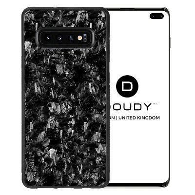Samsung S10 E & PLUS Real Forged Carbon Fibre Lightweight Protective Bumper Case