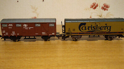 Lima box wagons X 7 HO/OO unboxed
