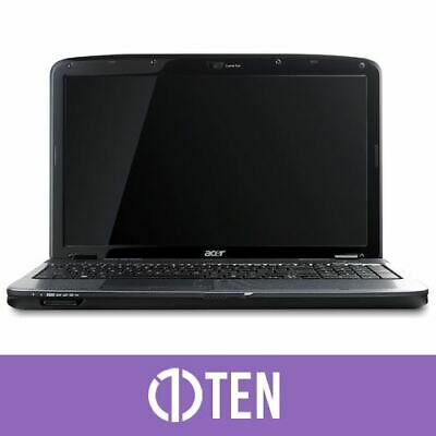 "Acer Aspire 5738 15.6"" Intel Pentium 2.10GHz 4GB RAM 320GB HDD Laptop Webcam"