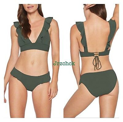 a75838ee5c6 NWT Robin Piccone 2 Piece Cami Swimsuit Bathing Suit Swimwear Set SZ M $192