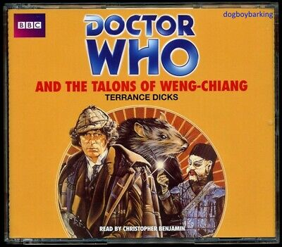 Doctor Who Talons of Weng-Chiang 4CD audio book Target Christopher Benjamin