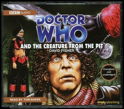Doctor Who The Creature From The Pit 4CD audio book Target read by Tom Baker