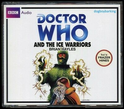 Doctor Who The Ice Warriors 4CD audio book Target read by Frazer Hines