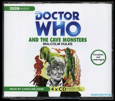 Doctor Who The Cave Monsters 4CD audio book Target read by Caroline John