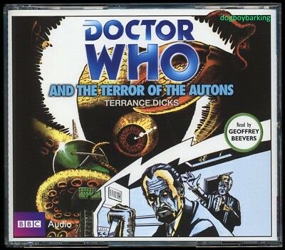 Doctor Who Terror of the Autons 4CD audio book Target read by Geoffrey Beevers