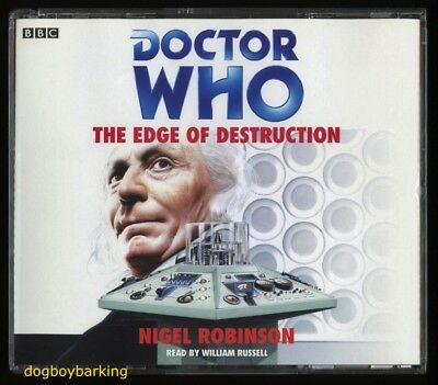 Doctor Who Edge of Destruction 4CD audio book Target read by William Russell