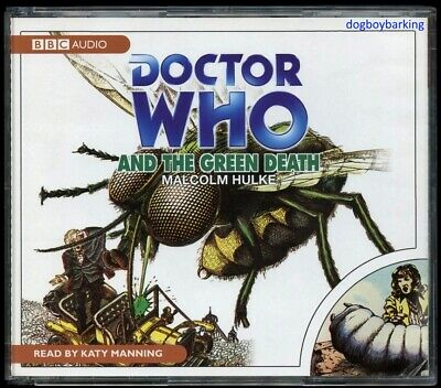 Doctor Who The Green Death 4CD audio book Target read by Katy Manning