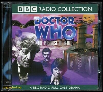 Doctor Who The Paradise of Death 2CD audio book full-cast drama BBC Jon Pertwee