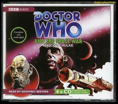 Doctor Who and the Space War 4CD audio book Target read by Geoffrey Beevers
