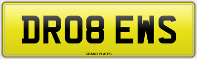 Drews Drew Andrew Andrews Number Plate Dr08 Ews No Added Fees On Retention Andy