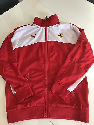 ccb7bbaefd VESTE DE SURVETEMENT Puma Ferrari No Maillot Football - EUR 16,99 ...