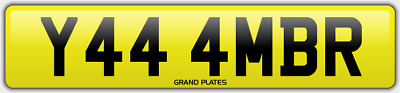 Amber Ambers NUMBER PLATE AMB NO ADDED FEES Y444 MBR CAR REGISTRATION AMB AMBERS