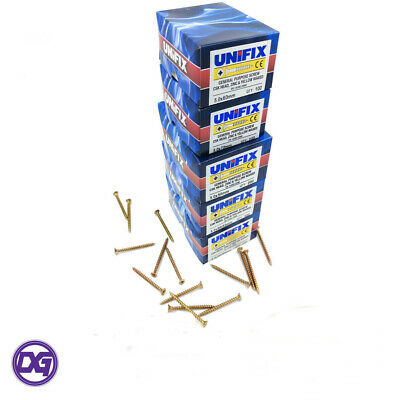 Unifix General Purpose Chippy CSK Pozi Passivated Wood Screws 3.5 x 45mm Box 200