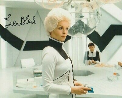 Isla Blair  In Person SIGNED photograph - Space 1999 - A605