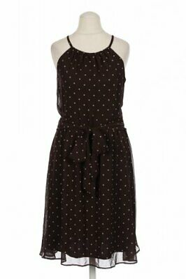 Esprit Kleid Damen Dress Damenkleid Gr. DE 34  braun #978a9b1