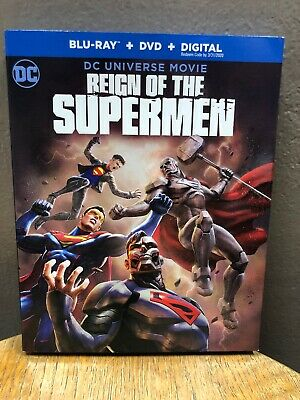 Reign of the Supermen (Blu-ray + DVD, 2019, 2-Discs) DC Universe