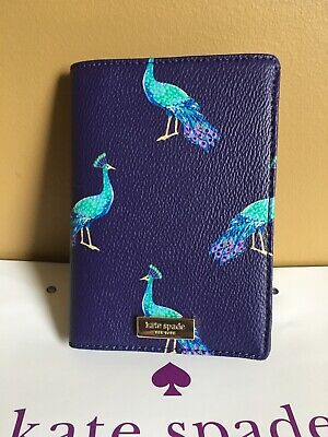 KATE SPADE  💯%Authentic Shore Street Peacock party  PASSPORT HOLDER NWT