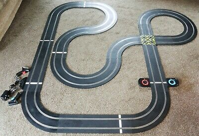 Scalextric Arc One C8433 Layout Leap Ramp Straights Curves Lap Counter Chicanes