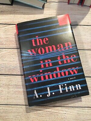 A. J. Finn I The Woman in the Window + 2018 + Hardcover + MBotM