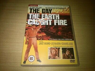 The Day The Earth Caught Fire Janet Munro Leo McKern Genuine R2 DVD VGC