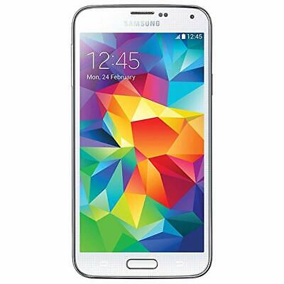 Samsung Galaxy S5  SM-G900A Unlocked GSM AT&T 4G LTE Android Smartphone WHITE