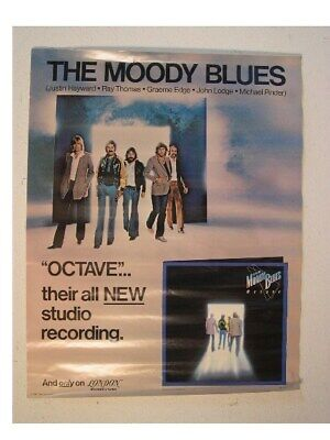 The Moody Blues Poster Octave Band Shot Altes