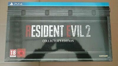 Resident Evil 2 Collector Ps4 New Neuf Pal