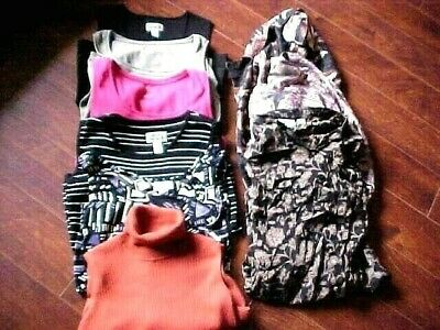 1edfa927ab9bc8 CHICO S   CHICO S Travelers Asst Lot Of 9 Tops Blouses Tanks Size 1 ...